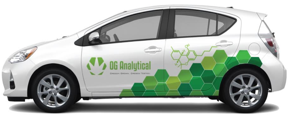 OG Analytical Courier Vehicle